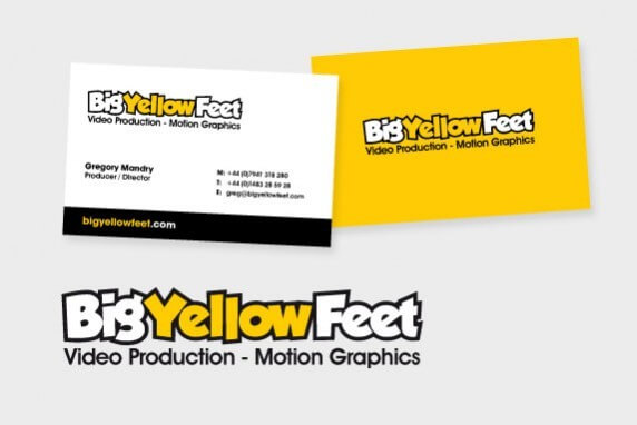 Video Production, Motion Graphics, Big Yellow Feet, London & Surrey