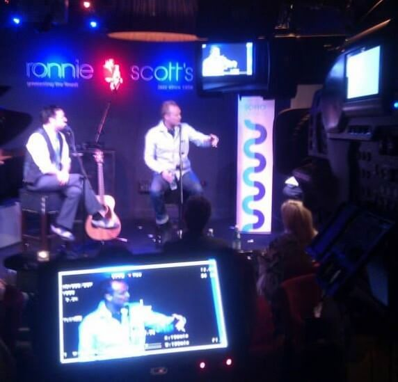 Live Event Filming, Ronnie Scott's, Big Yellow Feet, London & Surrey