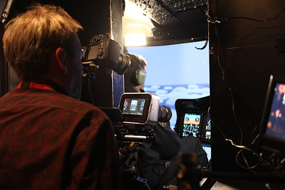CAA Flight Simulator Filming, Video Production, Big Yellow Feet, London & Surrey