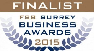 FSB Surrey Business Awards 2015 - FINALIST