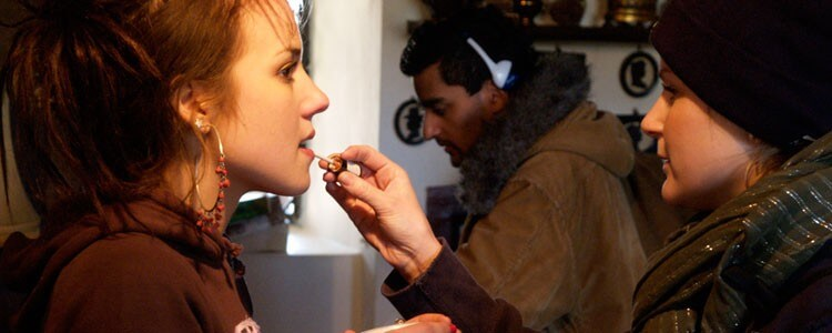 Makeup – On the set of a Feature Film