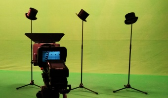 Green screen Filming Background keying